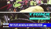 Pinoy cyclists, nais magtala ng Guinness World Record