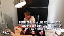 Peter Crouch trolle Lady Gaga (et se moque encore de sa propre taille)
