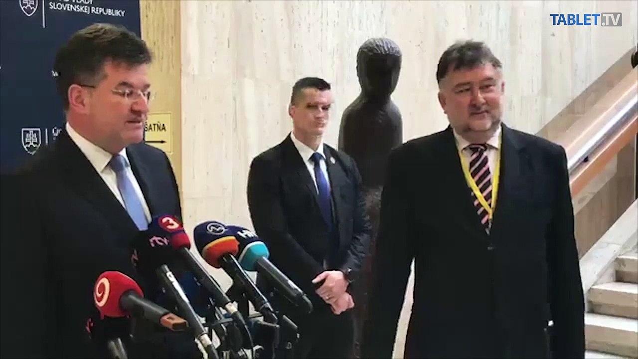 ZÁZNAM: Brífing ministra zahraničných vecí M. Lajčáka ku kibernetickému útoku