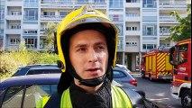 """Villeurbanne : Incendie """"invisible"""" dans un immeuble du Tonkin"""