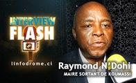 Interview Flash : N'Dohi Raymond, Maire sortant de la commune de Koumassi, se confie à linfodrome.ci