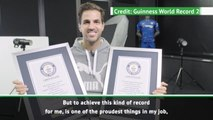 Guinness World Record for assists one of my proudest achievements - Fabregas