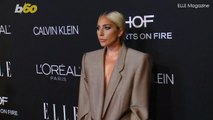 Lady Gaga Rocks Oversized Pantsuit For All The Right Reasons