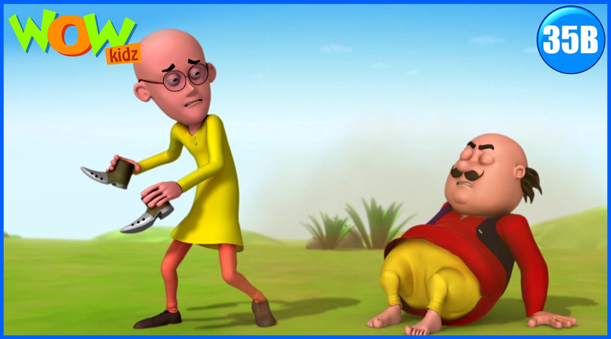Motu Patlu in Hindi | Chamaatkari Joota| Cartoon for Kids | Wow Kidz