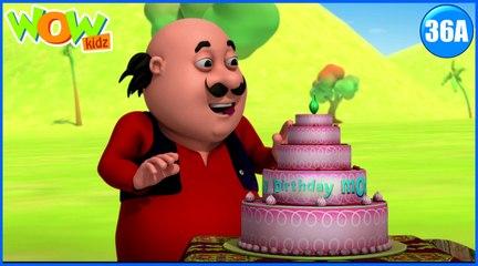 Motu Patlu in Hindi | Motu Ka Birthday| Cartoon for Kids | Wow Kidz