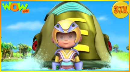 Vir The Robot Boy | Vir vs Robotic Piranha| Action Cartoon for Kids | Wow Kidz