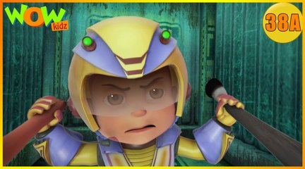 Vir The Robot Boy | Blob Attack| Action Cartoon for Kids | Wow Kidz