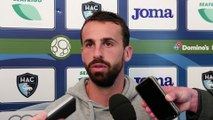 Avant AC Ajaccio - HAC, interview d'Alexandre Bonnet