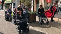 L'association des Paralysés de France teste l'accessibilité des commerces à Lorient