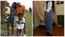 Kenza, la fille du footballeur El Hadji Diouf est devenue une grande fille