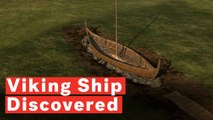 Giant Viking Ship Discovered In Farmer's Field
