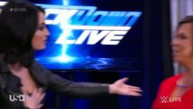 Smackdown 1000: Paige, Vickie Guerrero, Teddy Long and John Laurinaitis backstage segment