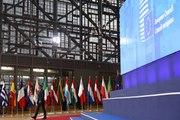 Déclaration du Président de la République Emmanuel Macron à son arrivée au Conseil européen
