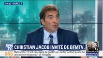 """Remaniement: Christian Jacob reproche que """"pendant quinze jours, on a bloqué le travail du gouvernement"""""""