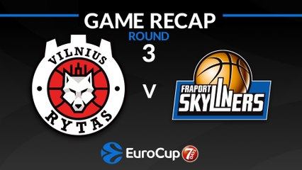 7Days EuroCup Highlights Regular Season, Round 3: Rytas 61-70 Skyliners