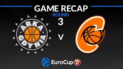 7Days EuroCup Highlights Regular Season, Round 3: Gdynia 61-78 Cedevita