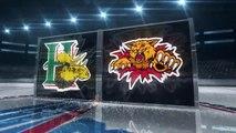 LHJMQ Halifax Mooseheads 5 at Moncton Wildcats 4 OT