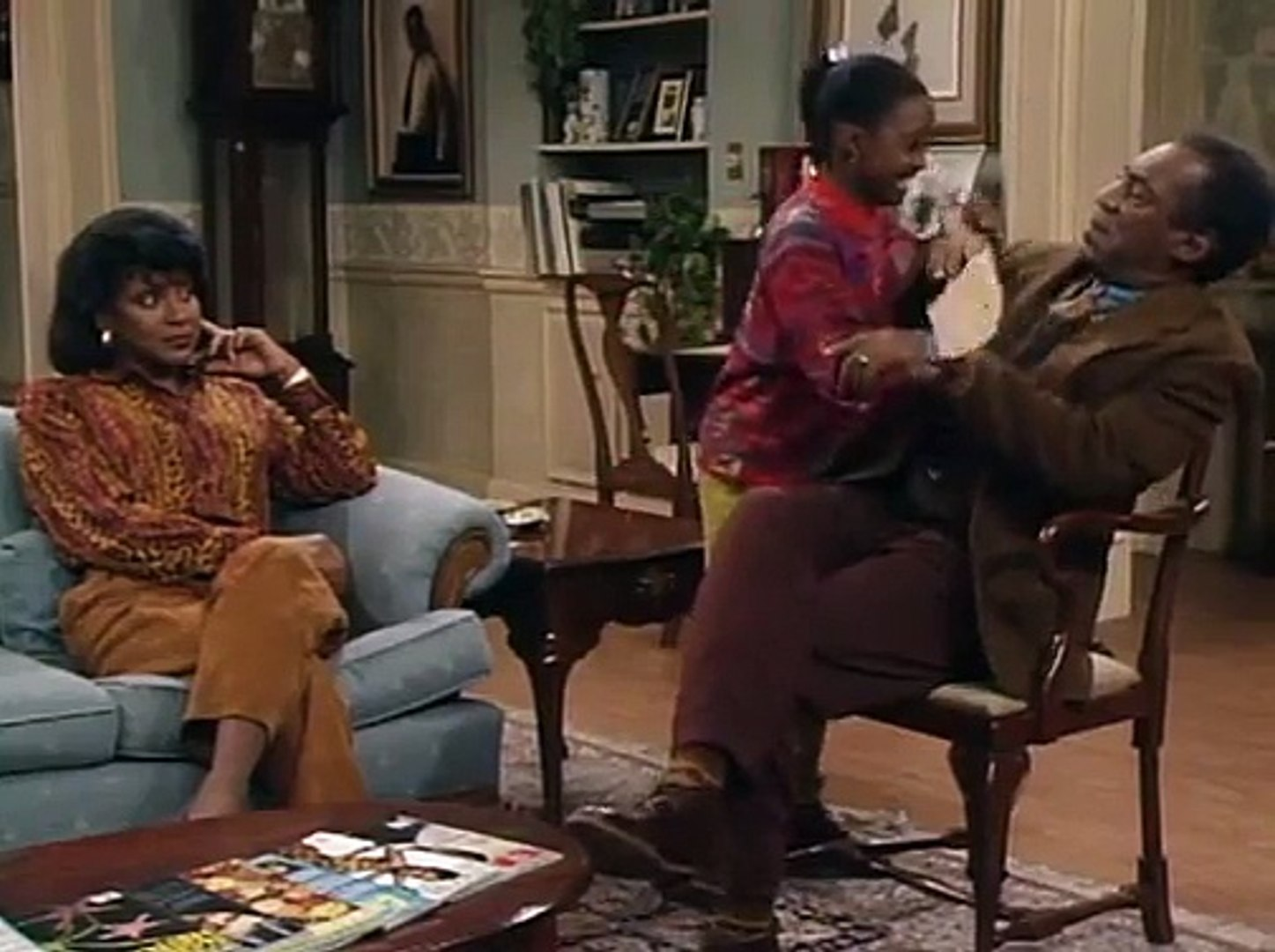 The Cosby Show S07E05 It's All İn The Game