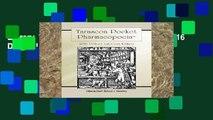 Library  Tarascon Pocket Pharmacopoeia 2016 Deluxe Lab-Coat Edition
