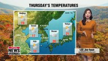 Chillier air with showers, east coast to see heavy rainfall _ 101818