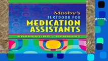 Review  Mosby s Textbook for Medication Assistants, 1e