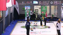 World Curling Tour, PAF Masters 2018, Team Stabulniece (LAT) vs Team Yoshimura (JPN)