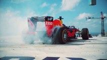 VÍDEO: Los donuts más locos y arriesgados de Coulthard en un F1