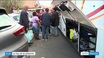 Inondations dans l'Aude : un bus de volontaires aide les sinistrés