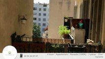 A louer - Appartement - Marseille (13006) - 2 pièces - 37m²
