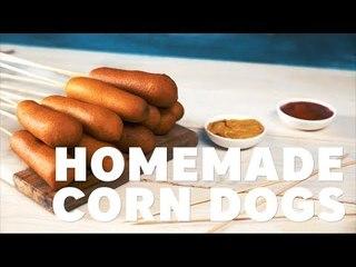 HOMEMADE CORN DOGS [BA Recipes]