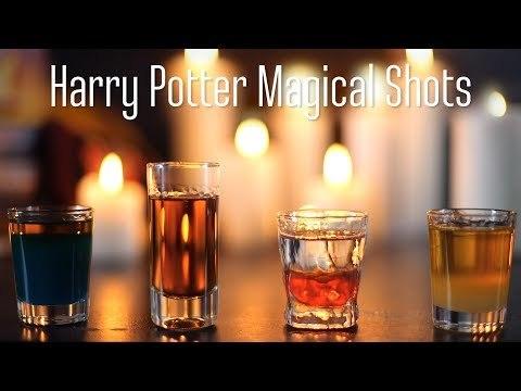 Harry Potter Magical Shots [BA Recipes]