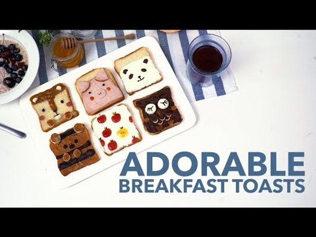Adorable Breakfast Toasts [BA Recipes]