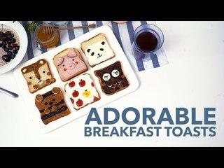 Adorable Breakfast Toasts [BA Recipes]