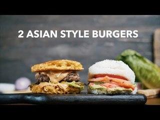 2 asian style burgers [BA Recipes]
