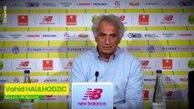Vahid Halilhodzic avant FC Nantes - Toulouse FC