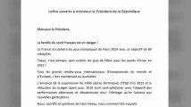 Fourcade, Riner, Lavillenie : plus de 380 sportifs interpellent Emmanuel Macron