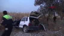 Karaman Otomobil Mısır Tarlasına Yuvarlandı: 1 Yaralı