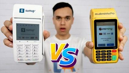 Sumup Total ou Moderninha Pro - Qual é a melhor máquina de cartão ?
