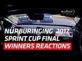 Team WRT Audi - Nürburgring winners reactions - Blanpain GT Series