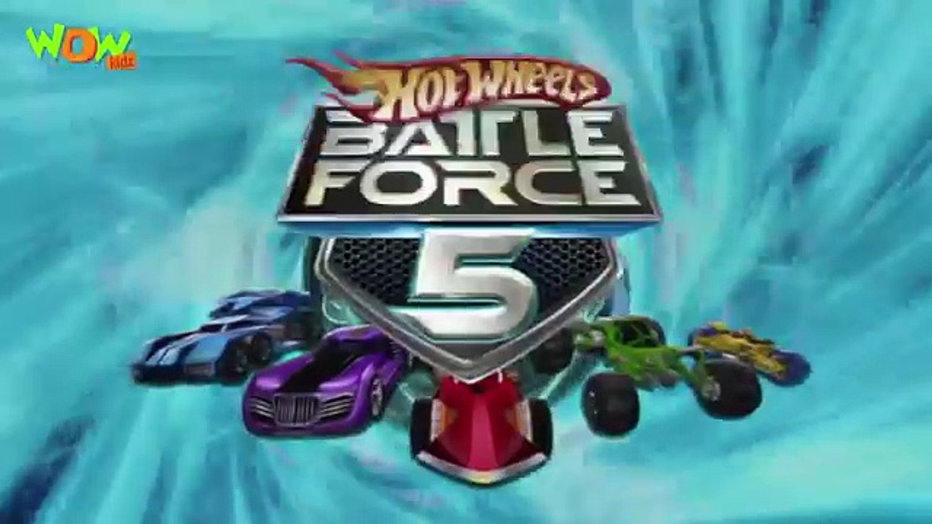 हिंदी कार्टून for Kids - Hot Wheels Battle Force 5 - Swarmed - Ep 21 - Wow Kidz