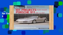 Best product  101 Projects for Your Porsche 911 996 and 997 1998-2008 (Motorbooks Workshop)