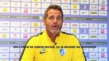 Football / Ligue 2 - Hinschberger (GF38) : « Nancy n'est pas à la ramasse »