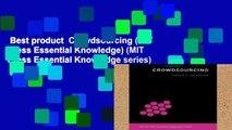Best product  Crowdsourcing (MIT Press Essential Knowledge) (MIT Press Essential Knowledge series)