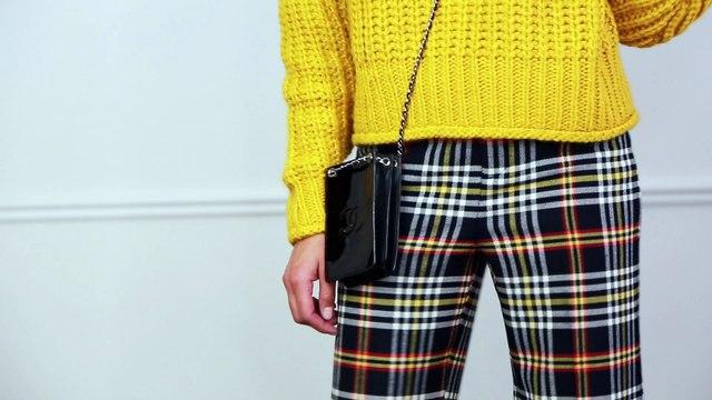 Get Trending: Three Ways to Style Plaid Pants