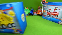 Paw Patrol Toy Collection Ultimate Rescue Mini Vehicles Fireman Chase Marshall F