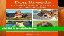 Popular Dog Breeds: A Concise Analysis of 50 Dog Breeds