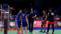 Mahadewi ISTARANI Rizki PRADIPTA vs CHOW Mei Kuan LEE Meng Yean - Badminton Denmark Open 2018