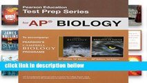 Review  Preparing for the Biology AP Exam (School Edition) (Pearson Education Test Prep)