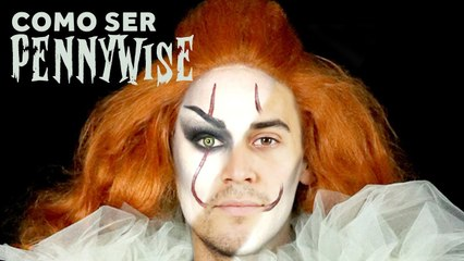 Cómo ser...PennyWise: Make up tutorial Glam by Kelly Roller
