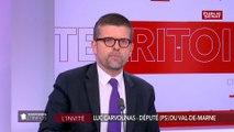 Luc Carvounas « espère » que Ségolène Royal sera la candidate de la «gauche arc-en-ciel» pour les élections européennes.